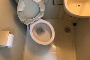 トイレのつまり解消後トイレ掃除