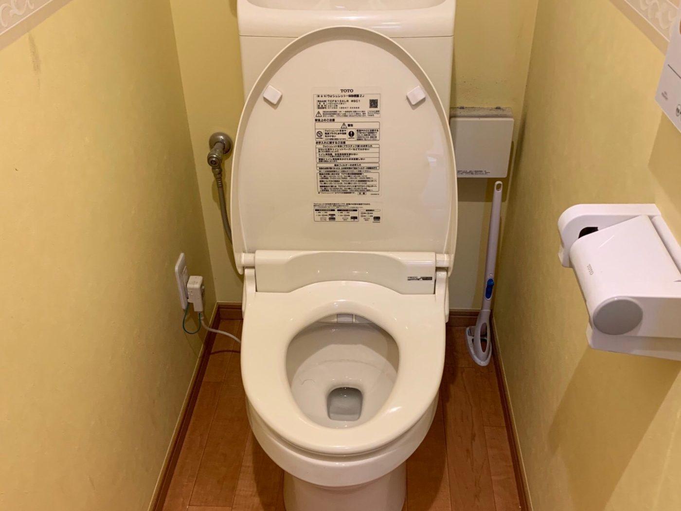 トイレのつまりを解消